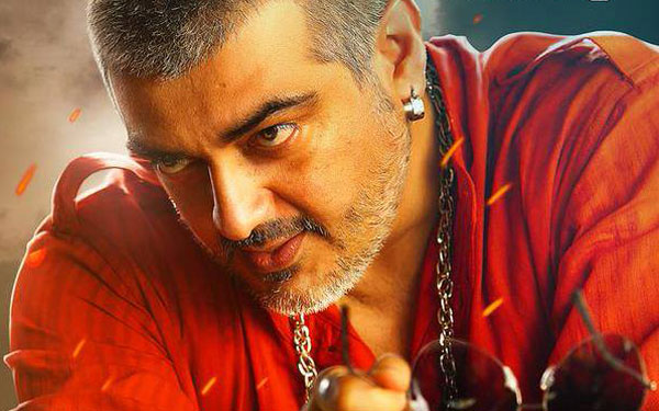 Ajith's new get-up again proved his mass