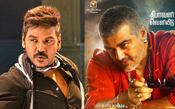 Lawrence gave up Vedhalam for Ajith