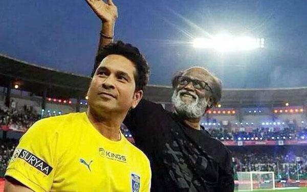 Sachin wondered by Rajinikathns enthusiasm