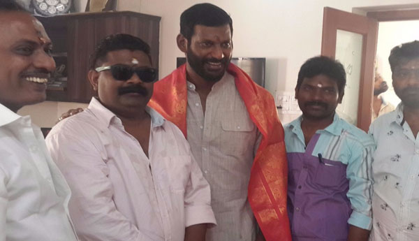Mysskin out of his box for Vishal