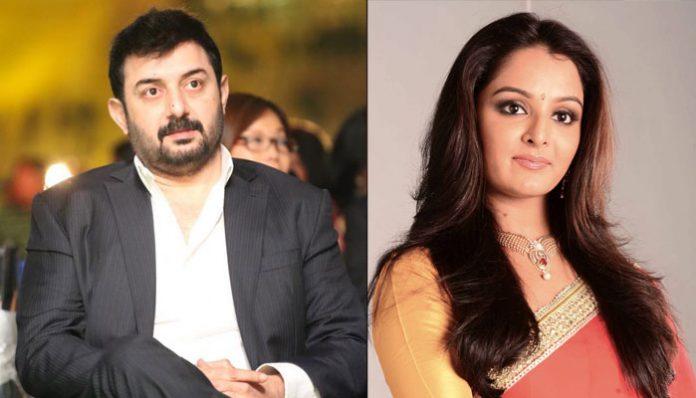 Manju Warrier unites with Arvind Swamy in her Tamil Debut