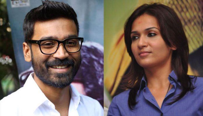 Dhanush writes screenplay for Soundarya's next directional venture