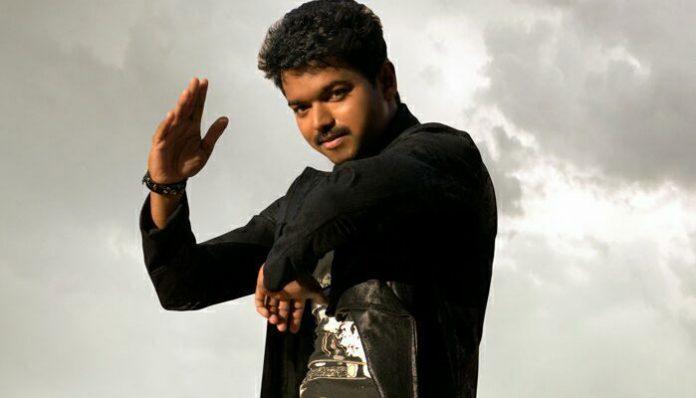 A debutant impresses Vijay with his dance