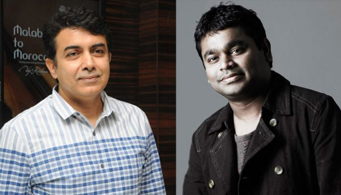 A R rahman does music for his Nephew