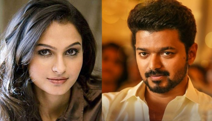 Actress Andera to fight against Thalapathy