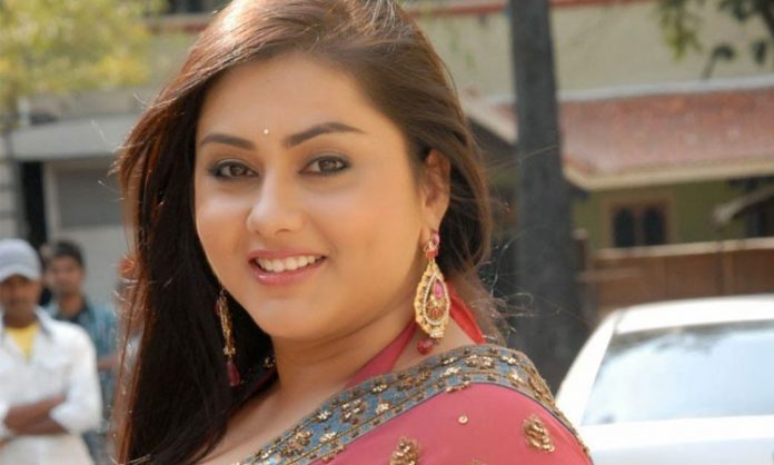 Namitha continues the connectivity with the Industry in a new Role