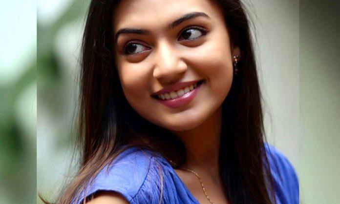 Nazriya's debut in Telugu movie with NaniNazriya's debut in Telugu movie with Nani