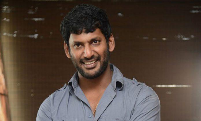 Actor Vishal new flick with 'Adanga Maru' Directorv