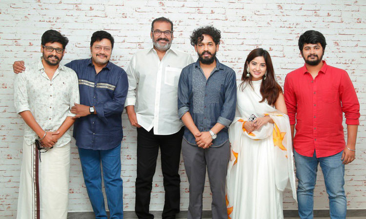 Sathya Jyothi Films Anbarivu with Hiphop Adhi and Vidharth