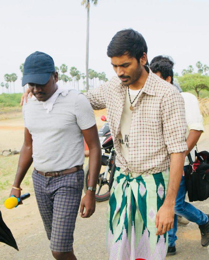 Karnan Shoots completed Dhanush thanks the team