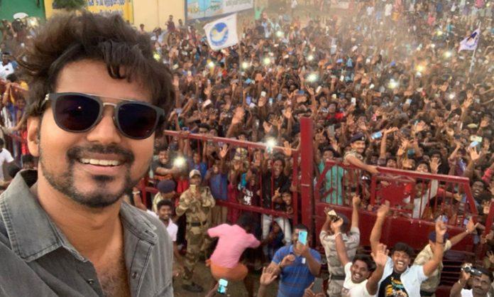 Vijay's Neyveli selfie the Most Retweeted