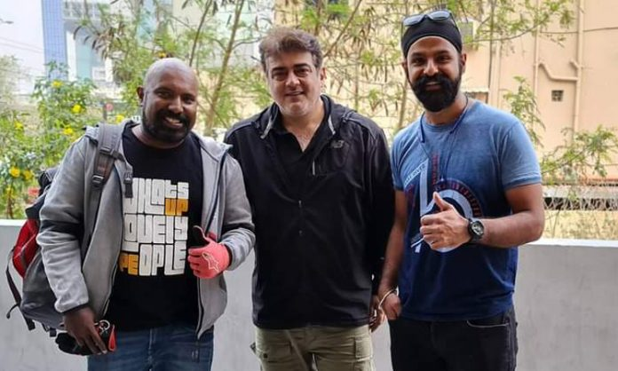 Ajith completed over 10,000 Kms bike ride