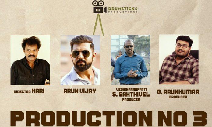 Hari and Arun Vijay Movie