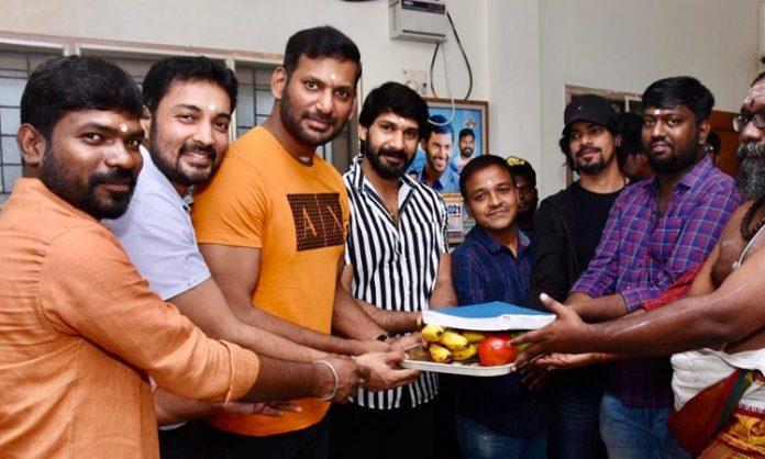 short film director is directing Vishal