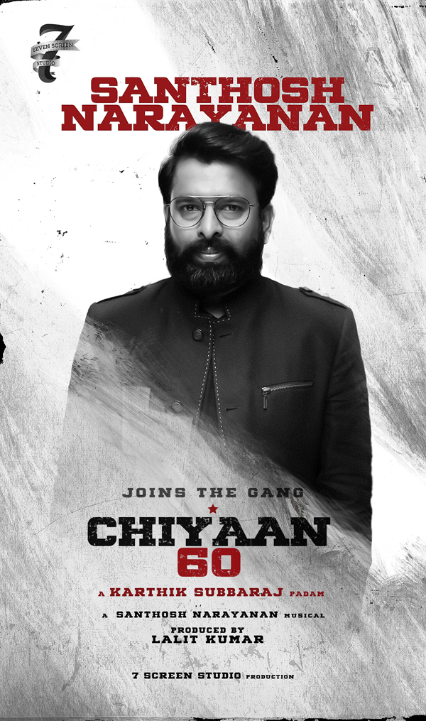 Chiyaan 60 started rolling with a change in the main crew