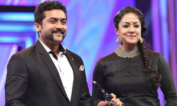 Suriya and Jyothika joining again on screen