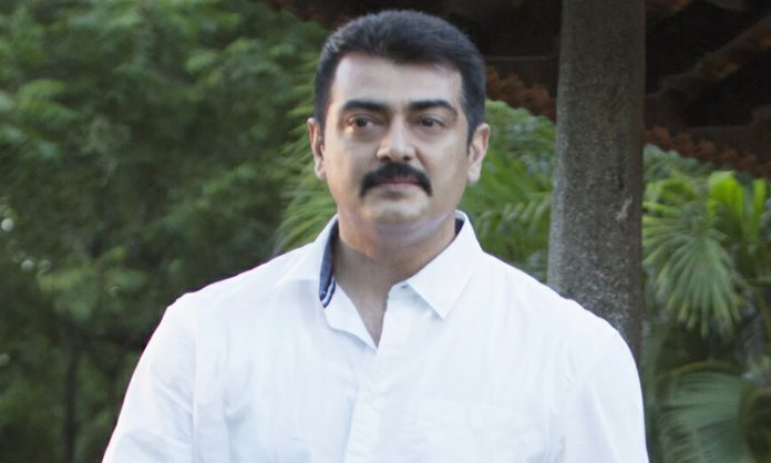 Ajith's 'Valimai' team, in trouble