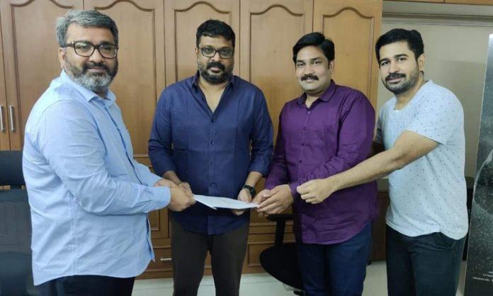 CS Amudhan joins with Vijay Antony