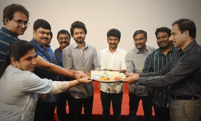 'Thalapathy 65' started rolling with the Pooja