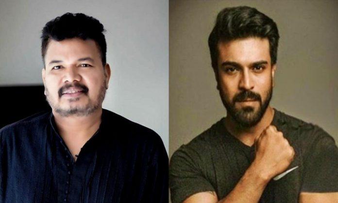 Ram Charan's plan changed regarding movie with Shankar?