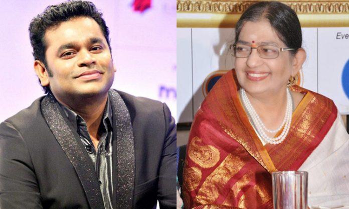 AR Rahman exhilarated on P Susheela's request